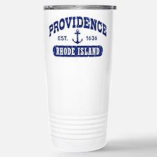 Providence Rhode Island Stainless Steel Travel Mug