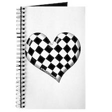 Checkered heart Journal