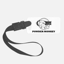 Powder Monkey TS BW 2011.png Luggage Tag
