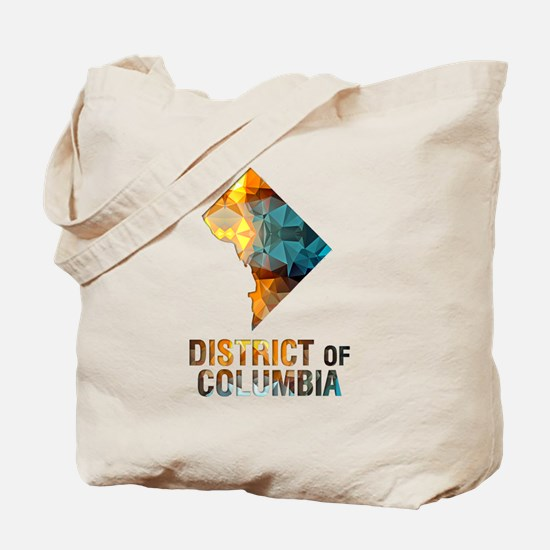 Unique District of columbia Tote Bag
