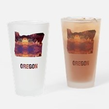 Cute Maps Drinking Glass