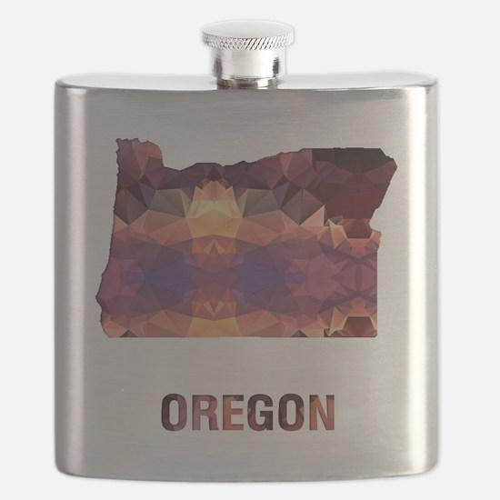 Unique Oregon Flask