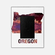 Mosaic Map OREGON Picture Frame
