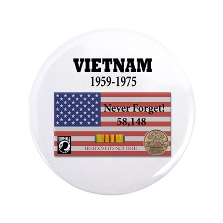 """Never Forget 3.5"""" Button (100 pack)"""