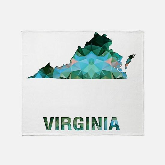 Cool Virginia Throw Blanket