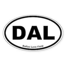Dallas Love Field Oval Decal