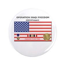 "Operation Iraqi Freedom 3.5"" Button"
