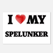 I love my Spelunker Postcards (Package of 8)