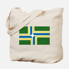 Portland Flag Tote Bag