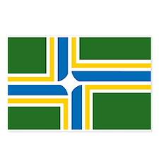 Portland Flag Postcards (Package of 8)