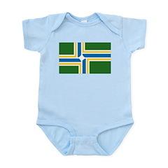 Portland Flag Infant Creeper