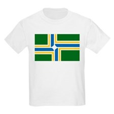 Portland Flag Kids T-Shirt