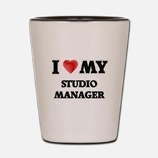 I love my Studio Manager Shot Glass