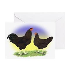 Buckeye Fowl Greeting Cards (Pk of 10)