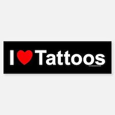Tattoos Bumper Bumper Sticker