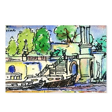 Seine River Postcards