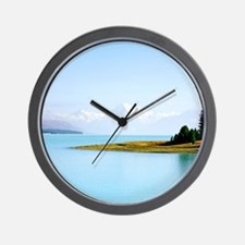 Southern Alps NZ Wall Clock