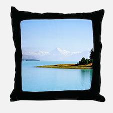 Southern Alps NZ Throw Pillow