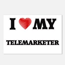 I love my Telemarketer Postcards (Package of 8)
