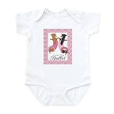 Dachshund Ballerinas Infant Bodysuit