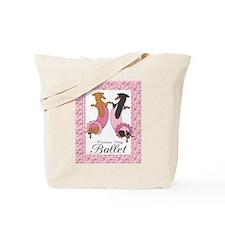 Dachshund Ballerinas Tote Bag