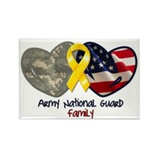 Guard Family Rectangle Magnet (10 pack)