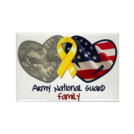 Guard Family Rectangle Magnet