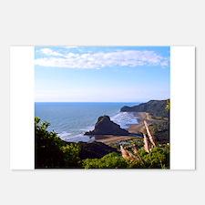 Piha Surf Beach NZ Postcards (Package of 8)