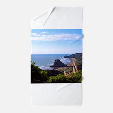 Piha Surf Beach NZ Beach Towel