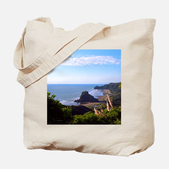 Piha Surf Beach NZ Tote Bag