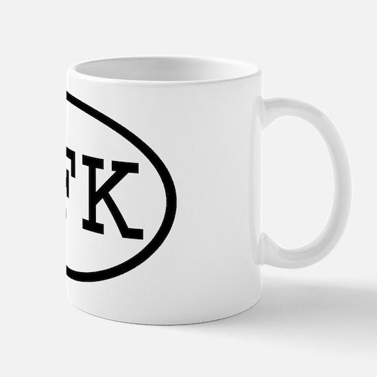 JFK Oval Mug
