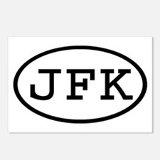 JFK Oval Postcards (Package of 8)