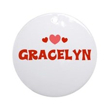 Gracelyn Ornament (Round)