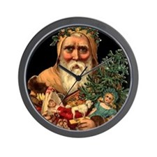 Christmas Santa Claus Wall Clock