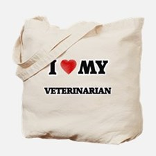 I love my Veterinarian Tote Bag