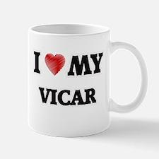 I love my Vicar Mugs