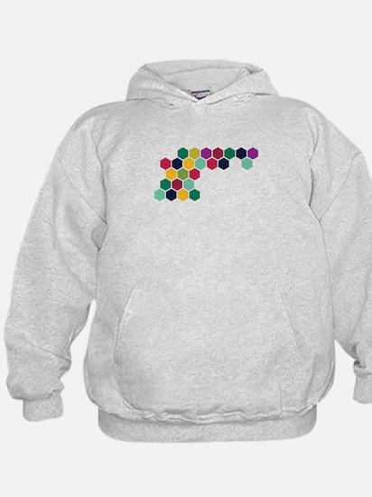 Colorful Honeycombs Hoodie
