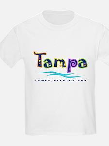 Tampa Tropical Type -  T-Shirt