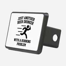 Beer Drinker Running Problem Hitch Cover