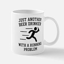 Beer Drinker Running Problem Mug