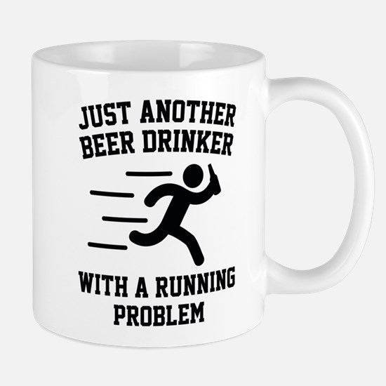 Beer Drinker Running Problem Mug
