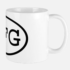 JFG Oval Mug