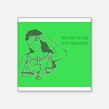 Nevertheless - green Sticker