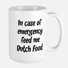 Feed me Dutch Food Mugs