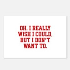 Wish I Could Postcards (Package of 8)