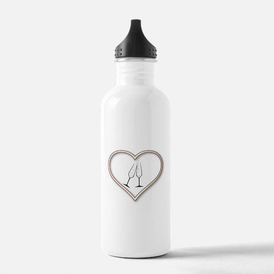 Love Celebration Water Bottle
