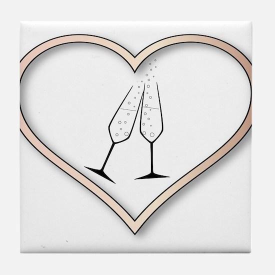 Love Celebration Tile Coaster