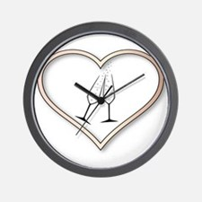 Love Celebration Wall Clock