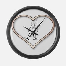 Love Celebration Large Wall Clock