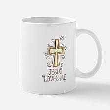 Jesus Loves Me Mugs